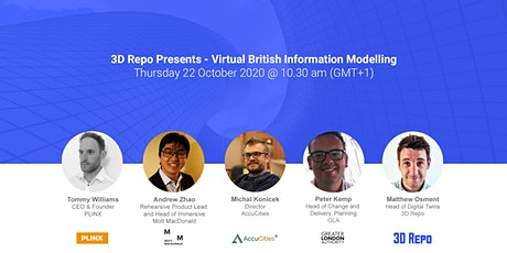 Virtual 3D Repo British Information Modelling tickets