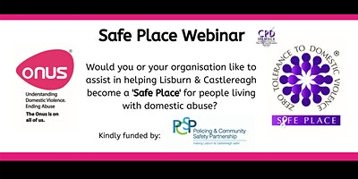 Onus Safe Place Webinar – Lisburn & Castlereagh City Council