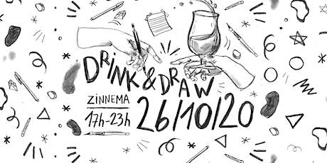 Drink & Draw tickets
