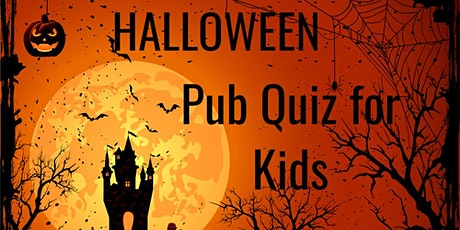 Halloween-Themed Pub Quiz for Kids tickets