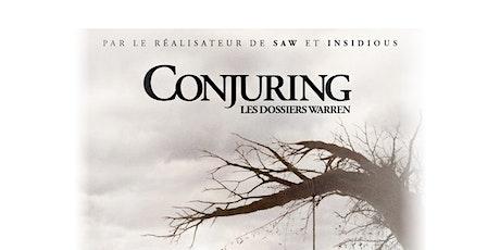 Conjuring : Les Dossiers de Warren billets