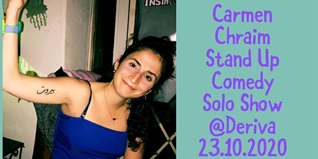Carmen Chraim _ Stand Up Comedy in EN _ Solo Show tickets