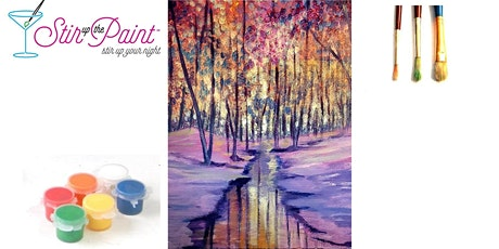 Early Snow In Person Live Painting Event 15 Person in Tacoma tickets