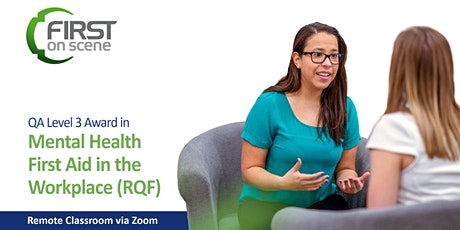 Mental Health First Aid Course - Ofqual regulated  (Level 3 RQF) tickets