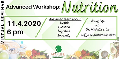 Advanced Workshop: Nutrition tickets