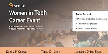 Optum Women in Tech Career Event tickets