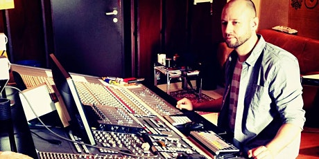 "Masterclass: Waldemar Vogel - ""Vibe vs. Technik in der Audioproduktion"" tickets"