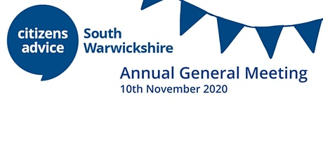 Citizens Advice South Warwickshire  AGM tickets