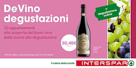 DeVino - Degustazione on line - lezione  7 biglietti