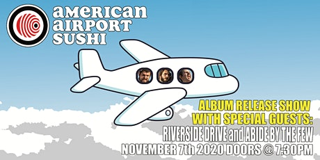 American Airport Sushi  ALBUM RELEASE Show at Meteor tickets