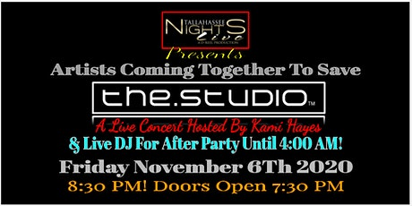 SAVE THE.STUDIO CONCERT Feat TNL tickets