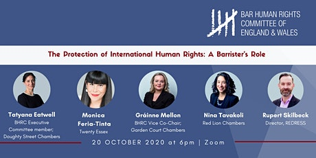 The Protection of International Human Rights: A Barrister's Role tickets