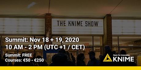 KNIME Fall Summit 2020 - Online tickets