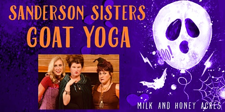 Goat Yoga with the Sanderson Sisters tickets
