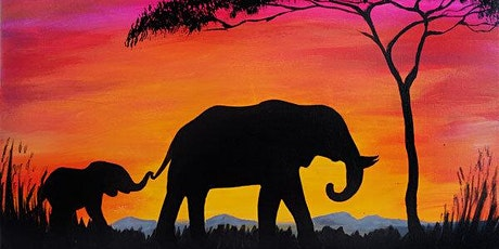Paint and Sip -  African Sunset tickets