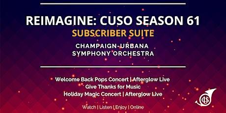 REIMAGINE:  Champaign-Urbana Symphony Orchestra Season 61/2020 tickets