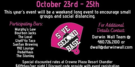 7th Annual Save Second Base Pub Crawl tickets
