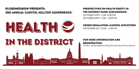 Capitol Hilltop Third Annual Conference: Health in The District tickets