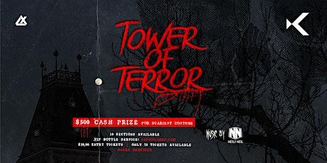 Kabana Rooftop Presents: Tower of Terror tickets