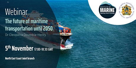 WEBINAR: The future of maritime transportation until 2050 tickets