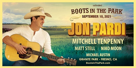 BOOTS IN THE PARK - Jon Pardi, Mitchell Tenpenny, Matt Stell & Niko Moon tickets
