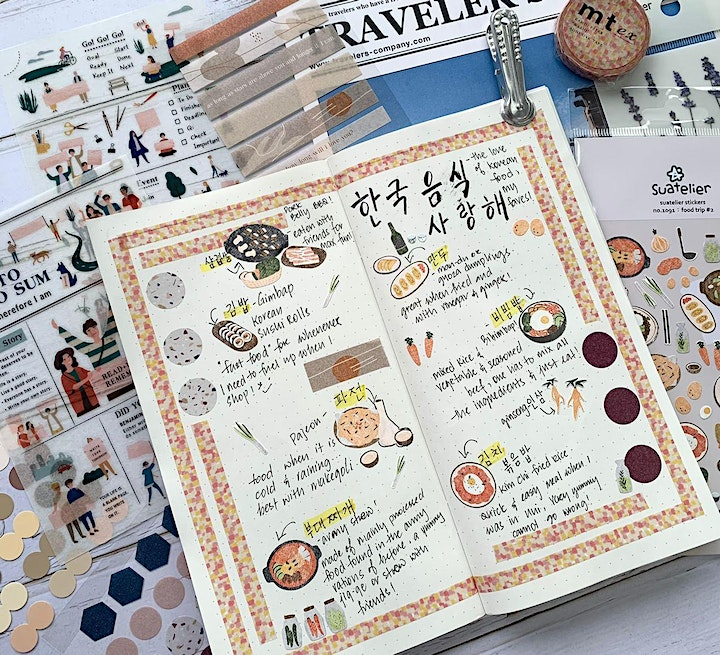 Journal with Us (October 2020):  Washi Tapes & Stickers image