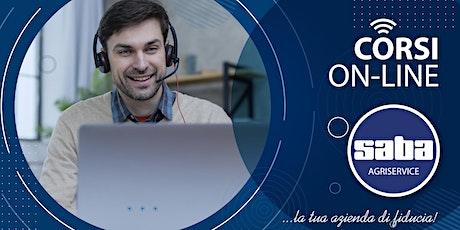 """Corso On-line  """"Trasmissioni Cardaniche"""" biglietti"""