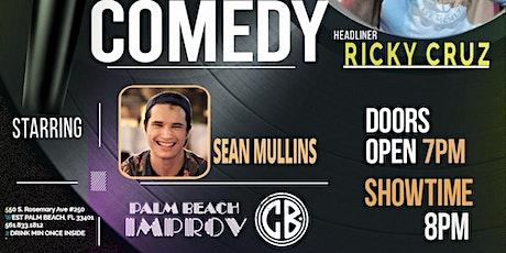 New Faces Palm Beach Improv: Sean Mullins tickets