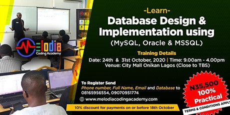 LEARN - DATABASES (MYSQL, ORACLE & MSSQL) tickets