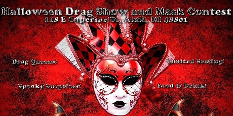 Halloween Drag Show and Mask Contest! tickets
