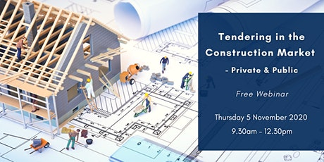 Bid2Win: Tendering in the Construction Market -  Private  &  Public tickets
