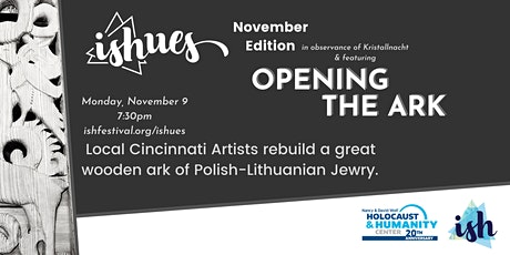 ishUES [November Ed.] Opening the Ark in Observance in Kristallnacht tickets
