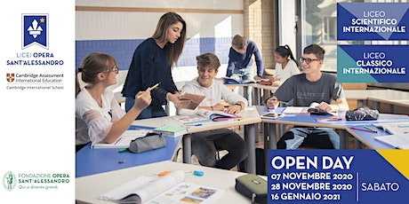 Liceo Classico Internazionale e Liceo Scientifico Internazionale / Open Day tickets