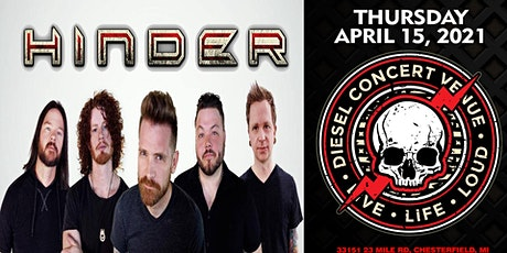 HINDER  (New Date April 15, 2021) tickets