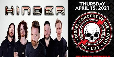 HINDER  - Postponed Until August 2021 tickets