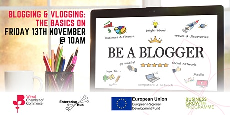 Blogging and Vlogging: the basics tickets