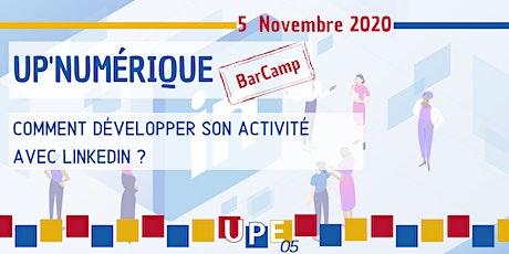 UP'Numérique | Bar Camp #3 : Linkedin billets