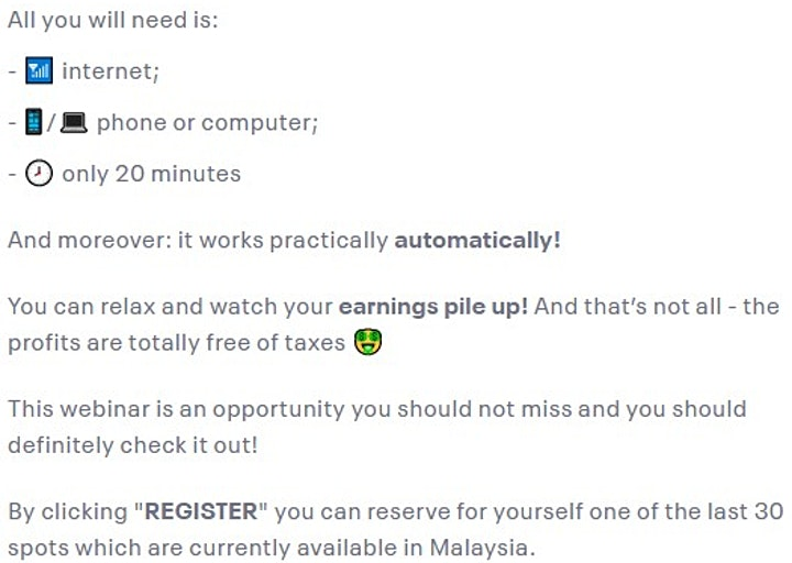 ⚠️ Exclusive Webinar: Take action now, reward yourself ! image