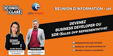 Présentation métier : Devenez SDR  / Business Developer tickets