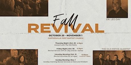 Fall Revival - Gospel Concert - Community Prayer Gathering tickets