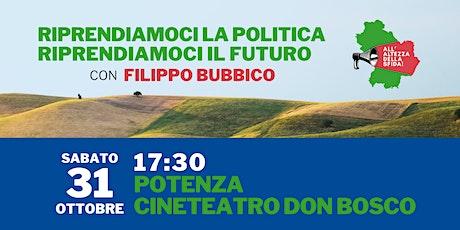 Riprendiamoci la politica, riprendiamoci il futuro! biglietti