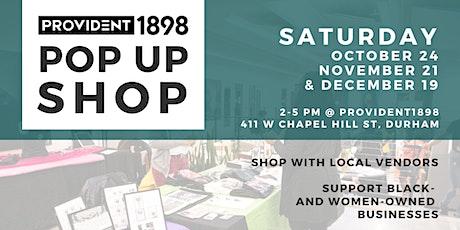 Provident1898 Pop-up Shop tickets