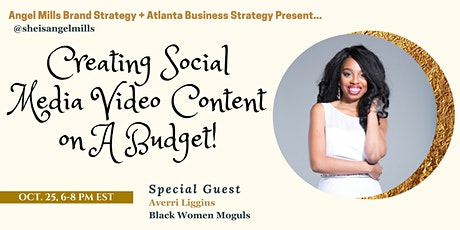 Creating Social Media Video Content On A Budget tickets
