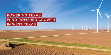 Wind-Powered Growth in West Texas tickets