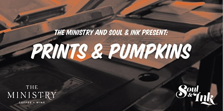 Prints and Pumpkins tickets