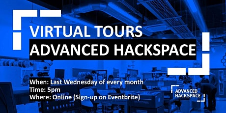 Hackspace Live:  Virtual Tours tickets