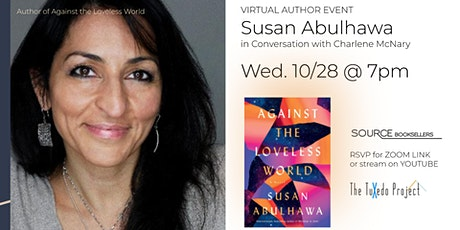 Virtual Author Event | Susan Abulhawa's Against the Loveless World tickets