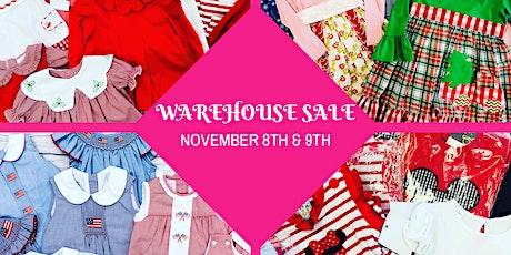 Warehouse Sale tickets