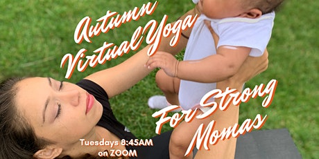 Virtual Yoga for Strong Momas tickets