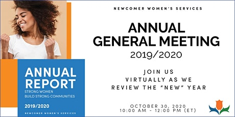 Newcomer Women's Services Annual General Meeting tickets